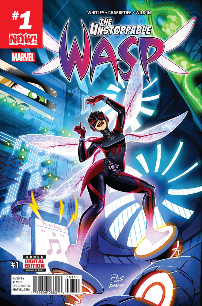 The Unstoppable Wasp #1 Elsa Charretier cover