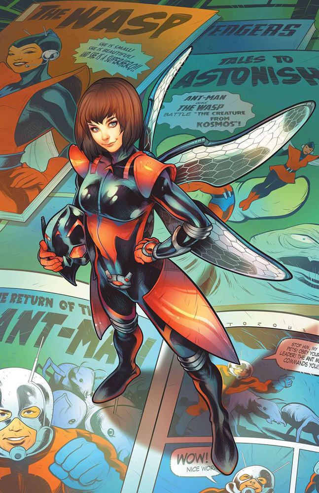 The Unstoppable Wasp #1 Elizabeth Torque variant cover