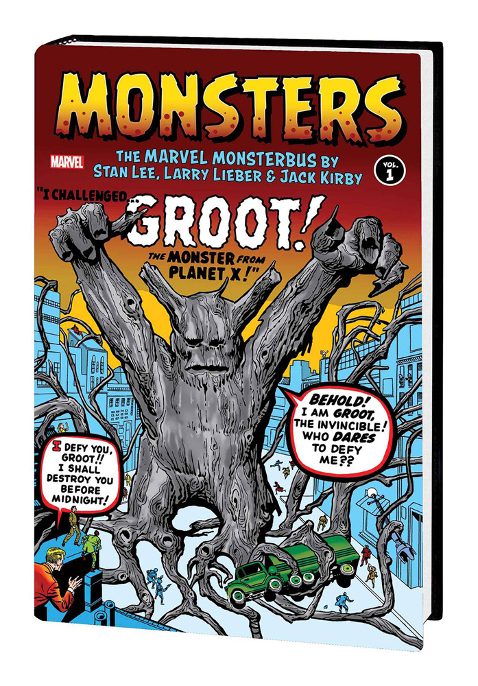 Monsters: The Marvel Monsterbus Vol. 1