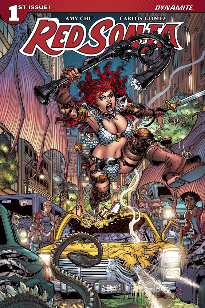 Red Sonja #1 Nick Bradshaw cover