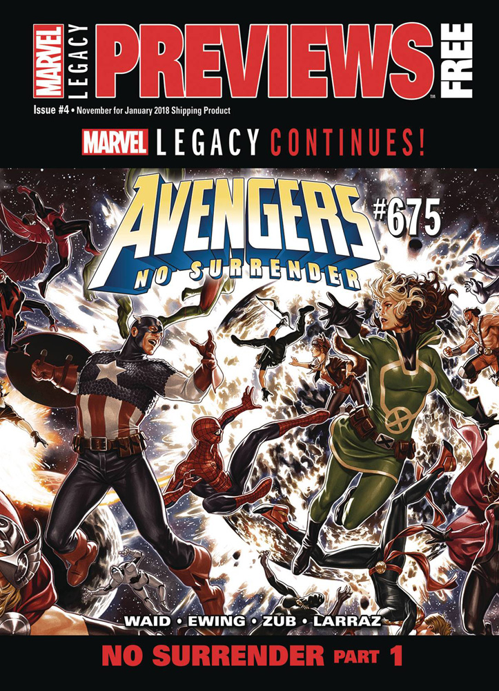 Image: Marvel Previews Vol. 04 #6 (January 2018) - Marvel Comics