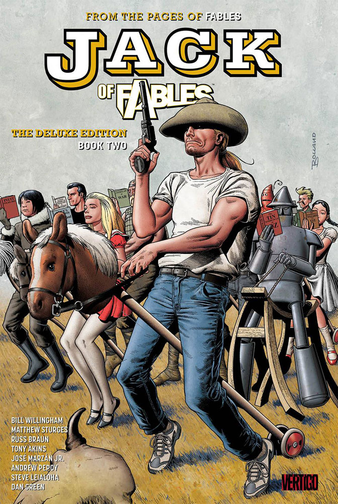 Image: Jack of Fables Deluxe Book 02 HC  - DC Comics - Vertigo