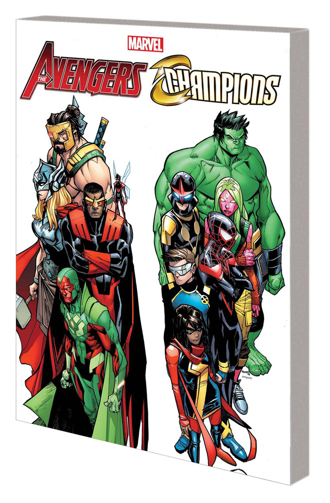 Image: Avengers & Champions: World's Collide SC  - Marvel Comics