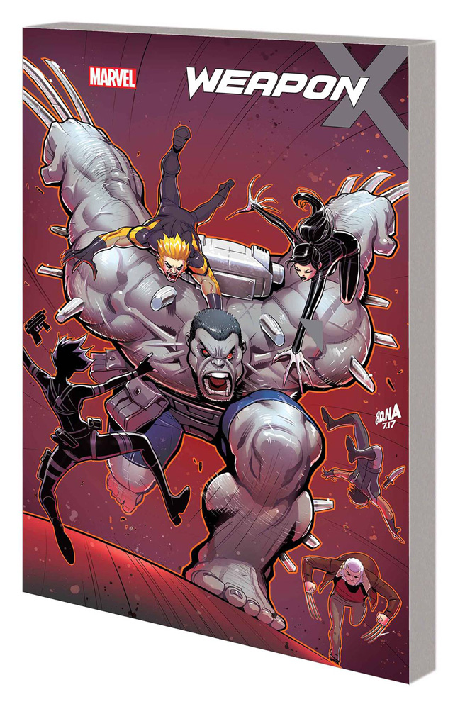 Image: Weapon X Vol. 02: Hunt for Weapon H SC  - Marvel Comics