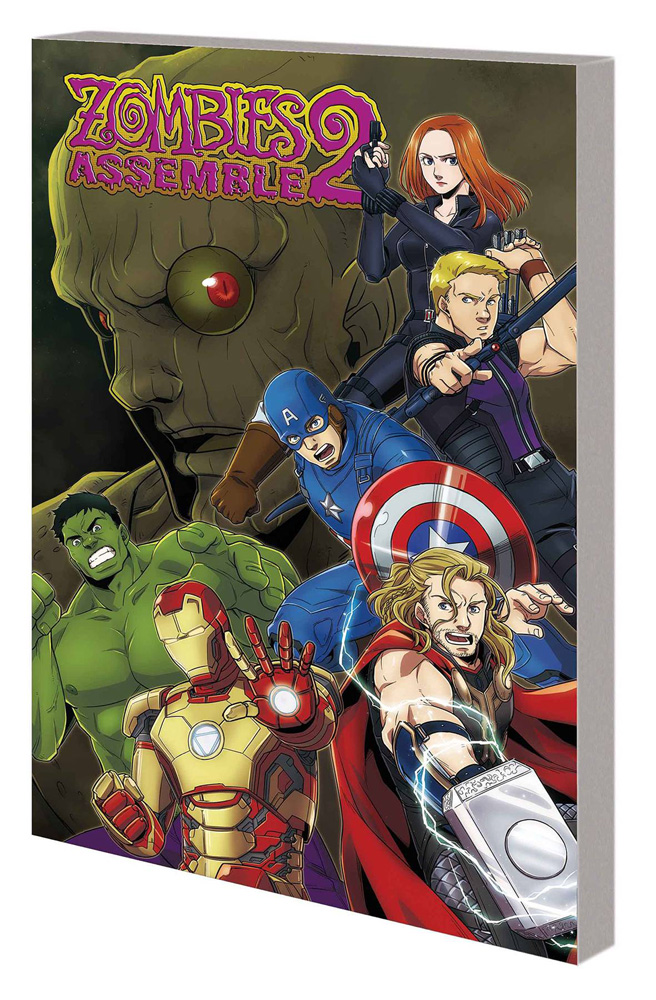 Image: Zombies Assemble Manga Vol. 02 SC  - Marvel Comics