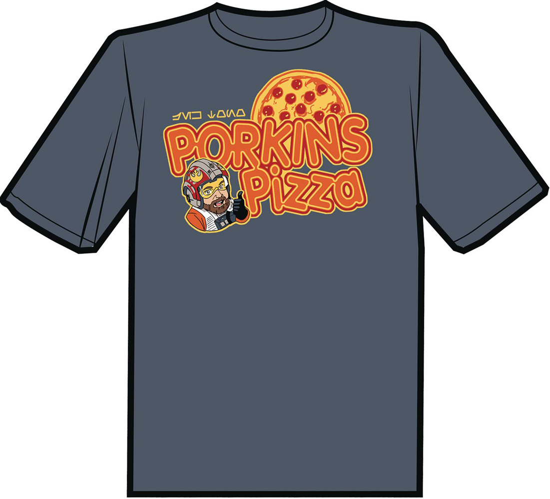 Image: Porkins Pizza T-Shirt  (XL) - Antarctic Press