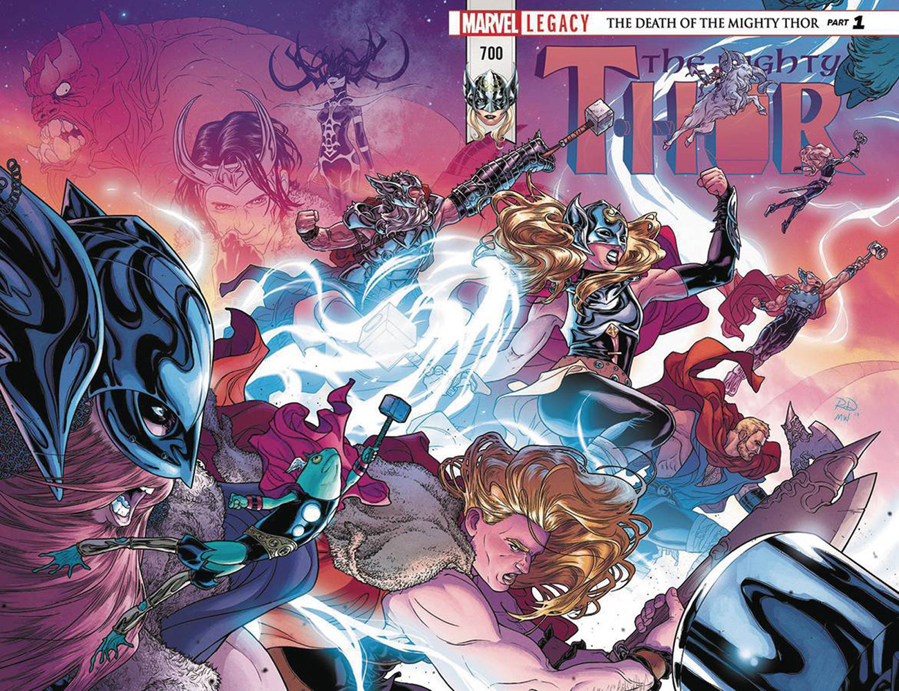 Image: Mighty Thor #700 (DFE signed - Simonson)  [2018] - Dynamic Forces