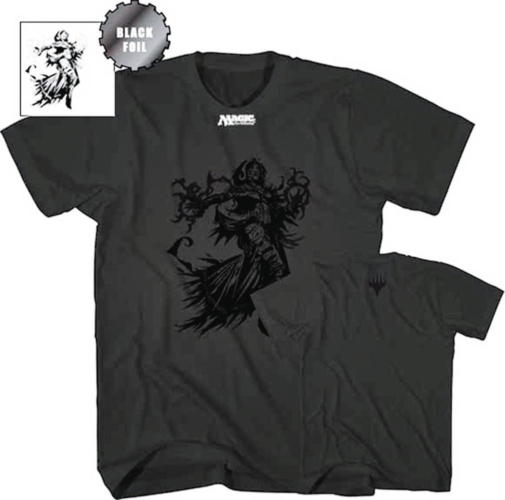 Image: Magic the Gathering T-Shirt: Liliana Vess [Black]  (XL) - Mad Engine