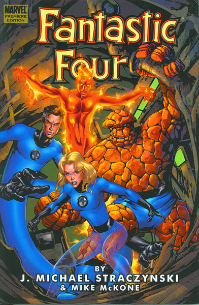 Image: Fantastic Four by J. Michael Straczynski Vol. 01 HC  - Marvel Comics