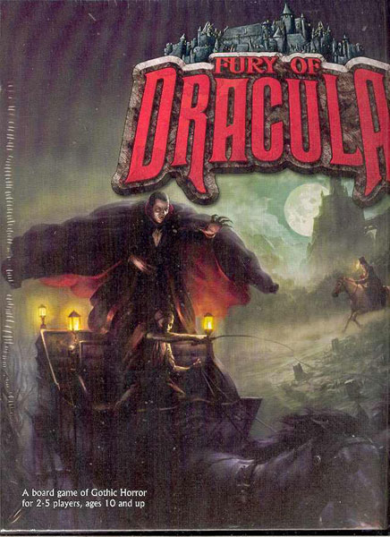 Image: Fury of Dracula Boardgame  -