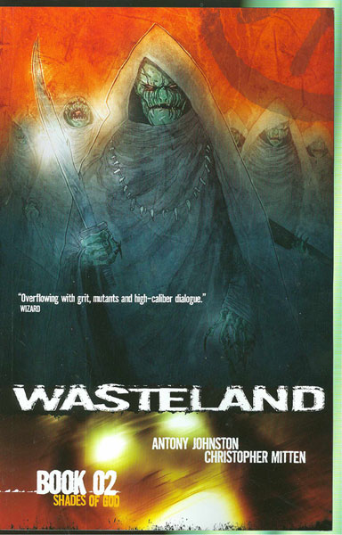 Image: Wasteland Book 2: Shades of God SC  - Oni Press Inc.