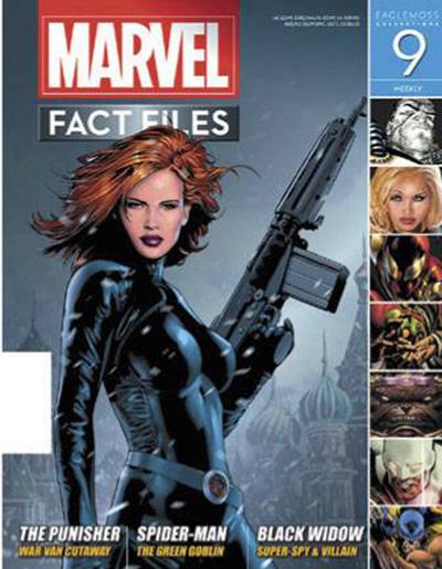 Marvel Fact Files #9