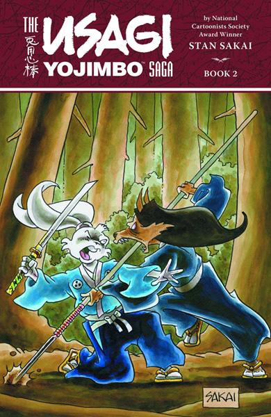 The Usagi Yojimbo Saga Volume 2