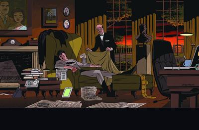 Detective Comics #37 Darwyn Cooke Variant Cover