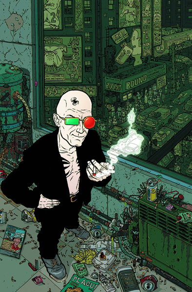 Absolute Transmetropolitan Volume 1