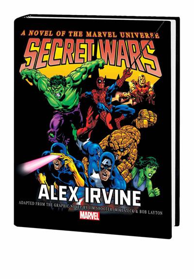 Secret Wars Prose Novel