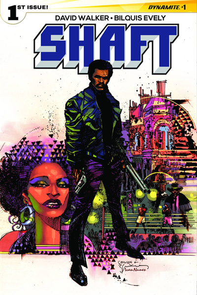 Shaft #1 Denys Cowan and Bill Sienkiewicz cover