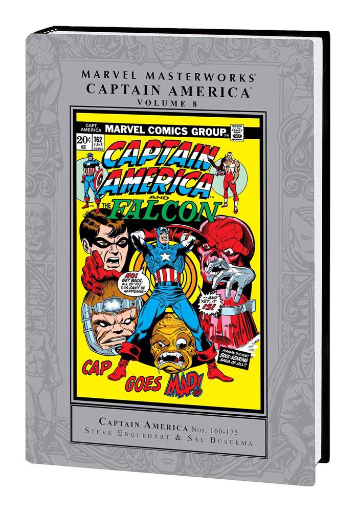 Marvel Masterworks: Captain America Volume 8