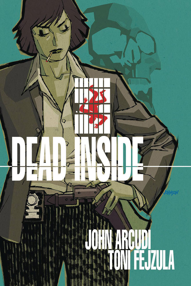 Dead Inside #1 Dave Johnson cover