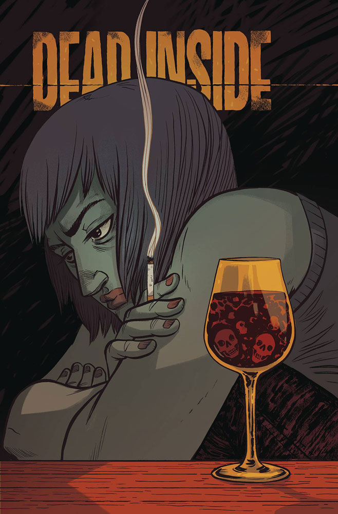 Dead Inside #1 Faith Erin Hicks cover