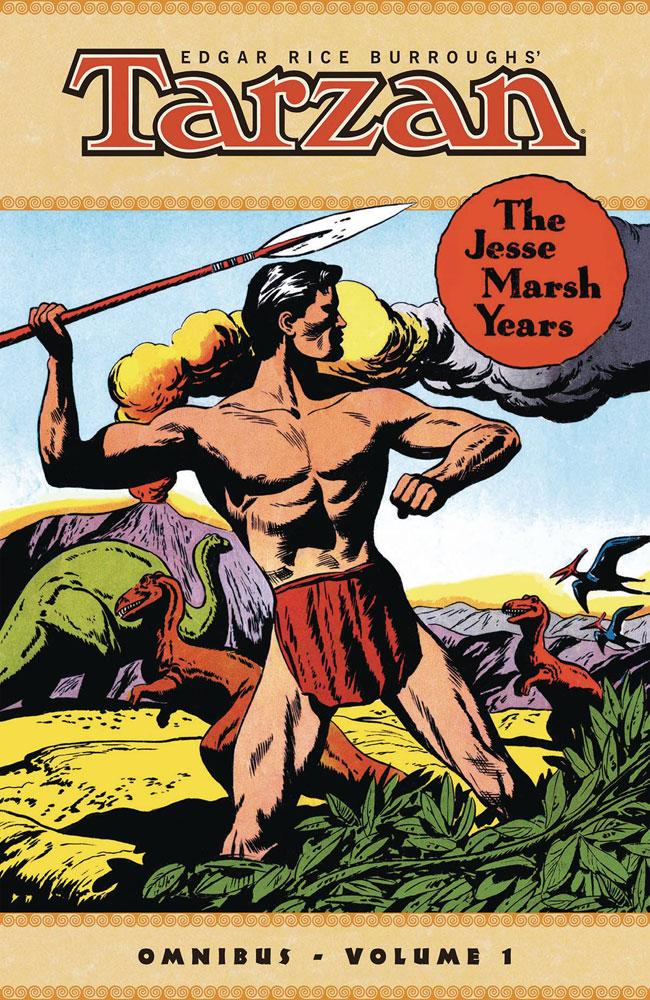 Edgar Rice Burroughs's Tarzan: The Jesse Marsh Years Omnibus Vol. 01