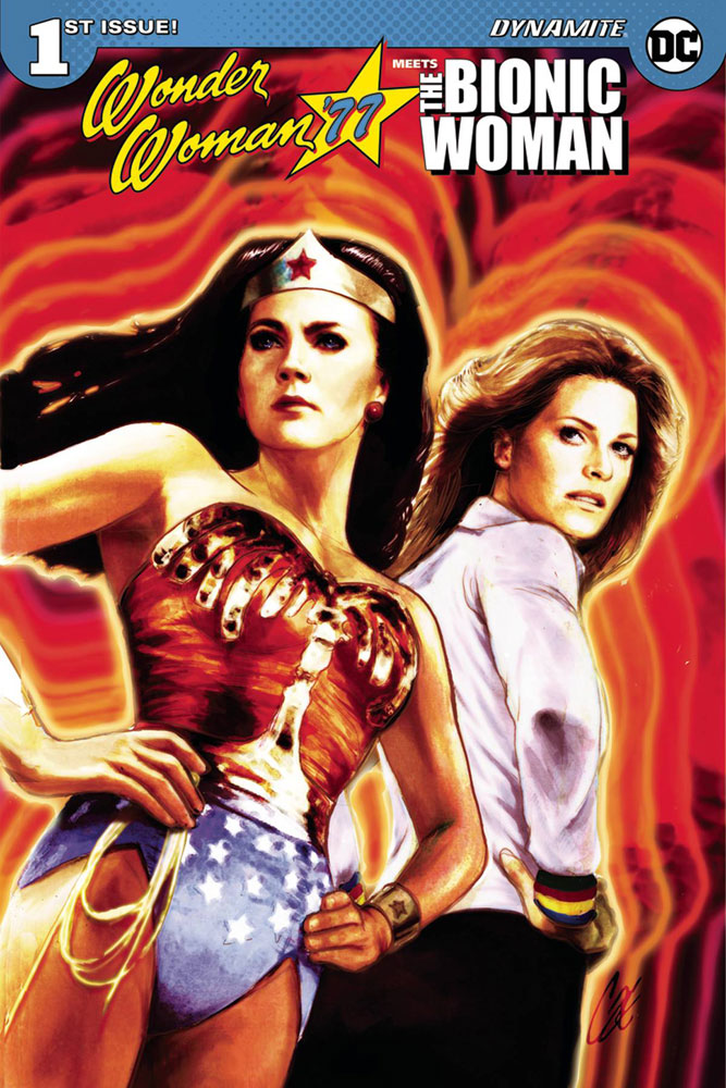 Wonder Woman '77 Meets The Bionic Woman #1 Cat Staggs cover