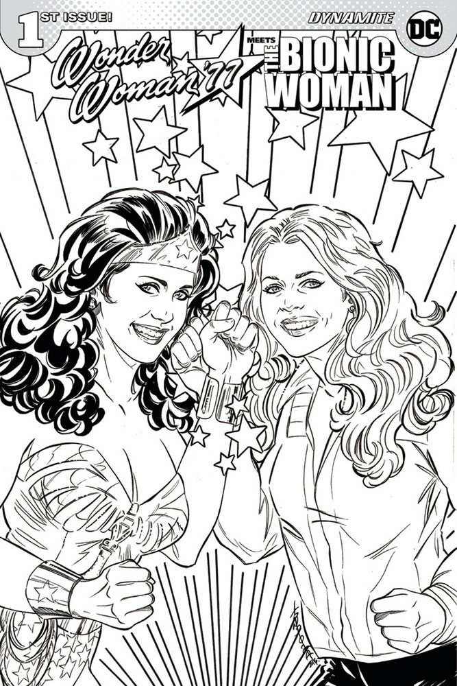 Wonder Woman '77 Meets the Bionic Woman #1 Judit Tondora cover