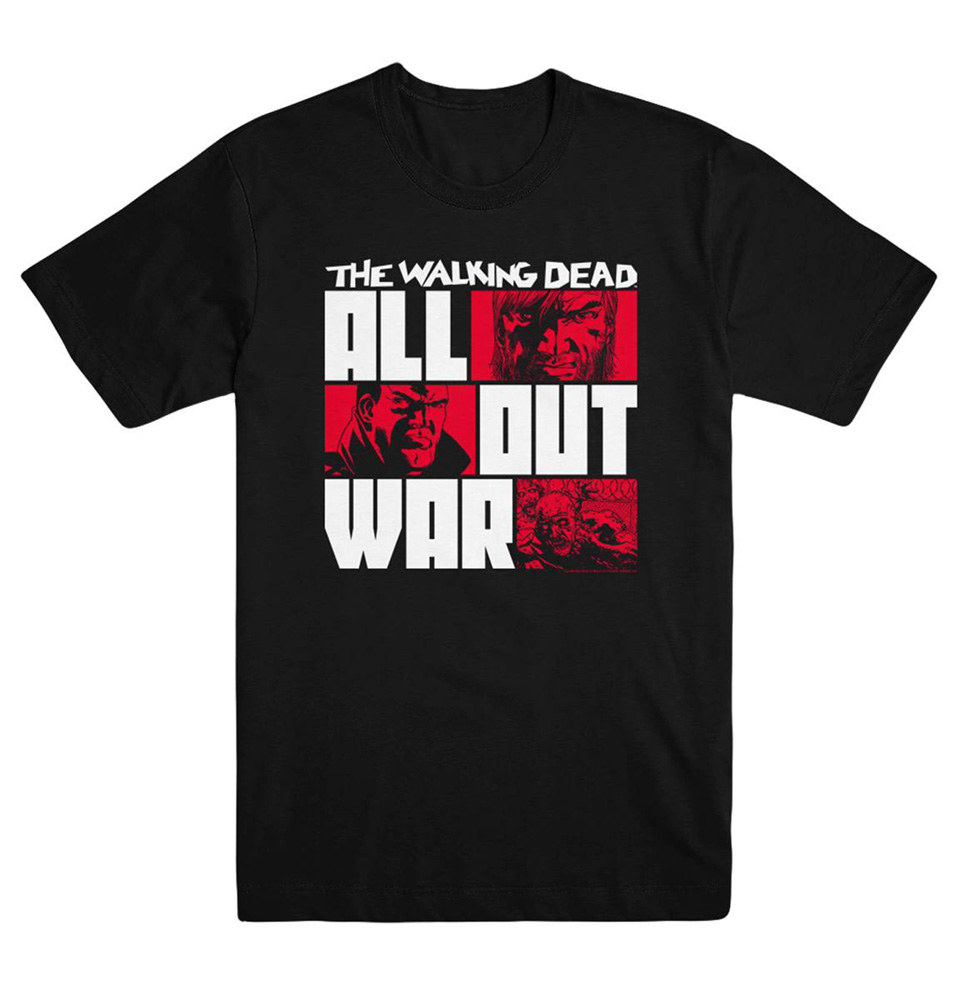 Image: Walking Dead T-Shirt: All Out War  (S) - Image Comics