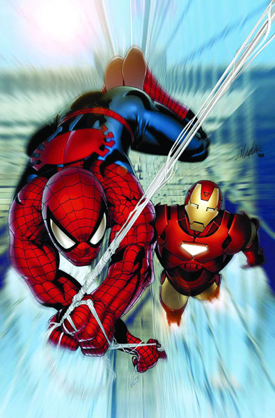 Image: Iron Man / Spider-Man Poster  - Marvel Comics