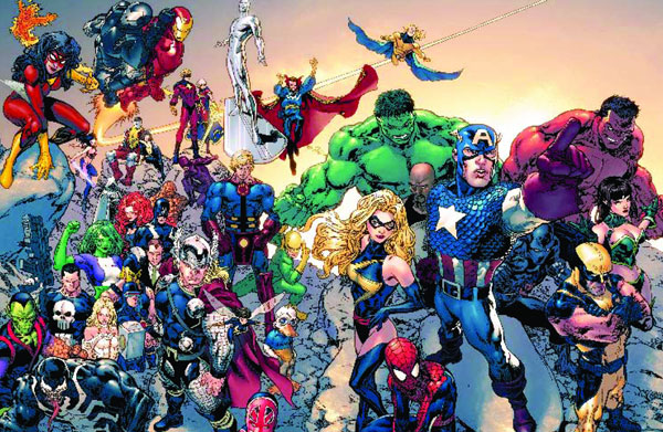 Image: Marvel Your Universe Poster  - Marvel Comics