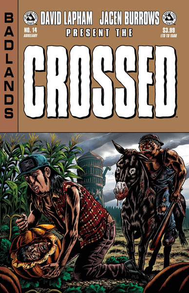 Image crossed badlands 14 auxiliary cover avatar press inc