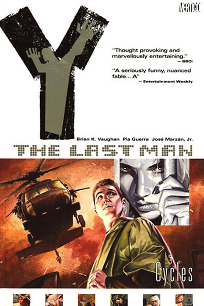 Image: Y: The Last Man Vol. 02 - Cycles SC  - DC Comics