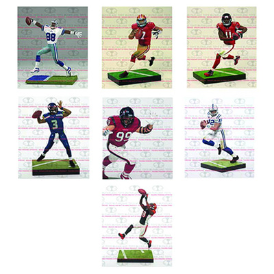 Image: TMP Sports NFL Series 33 JJ Watt Action Figure Case  - Todd McFarland Productions