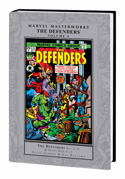 Marvel Masterworks: Defenders Vol. 4
