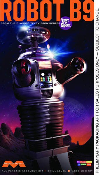 Image: Lost in Space: Robot 1/6 Scale Model Kit  -