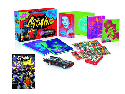 Batman: Complete TV Series Blu-ray & Book Set (Limited Edition)