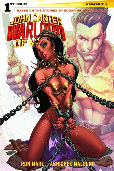 John Carter: Warlord of Mars #1 J. Scott Campbell cover