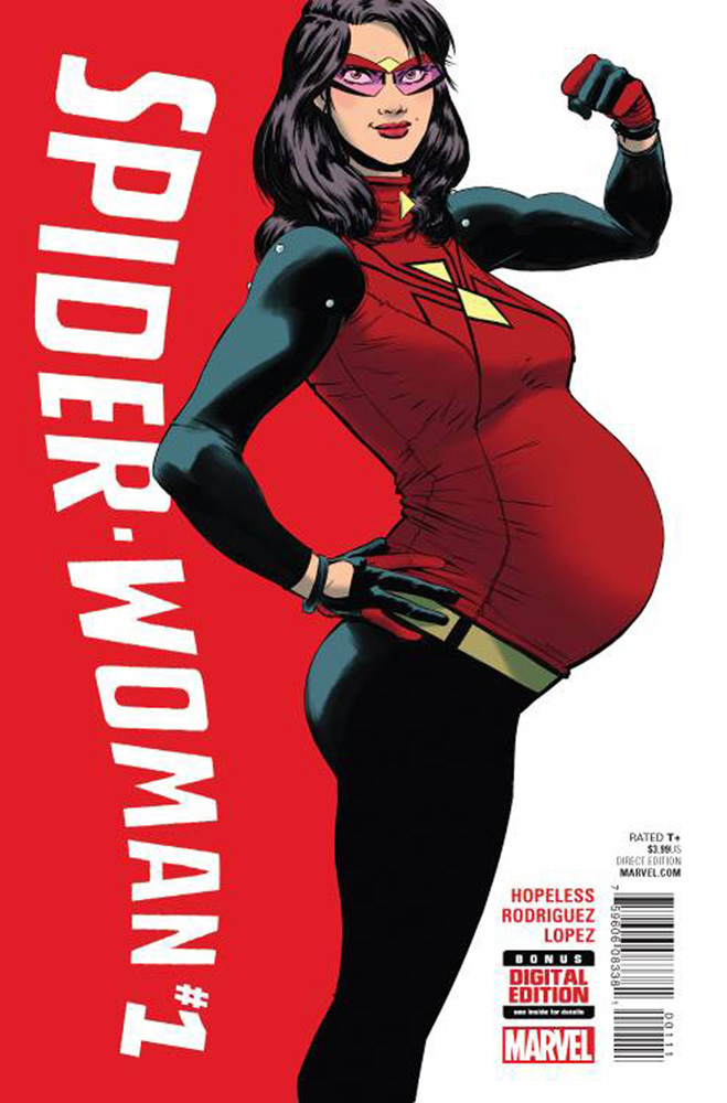 The most recent Spider-Woman #1