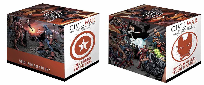 Civil War Box Set Slipcase