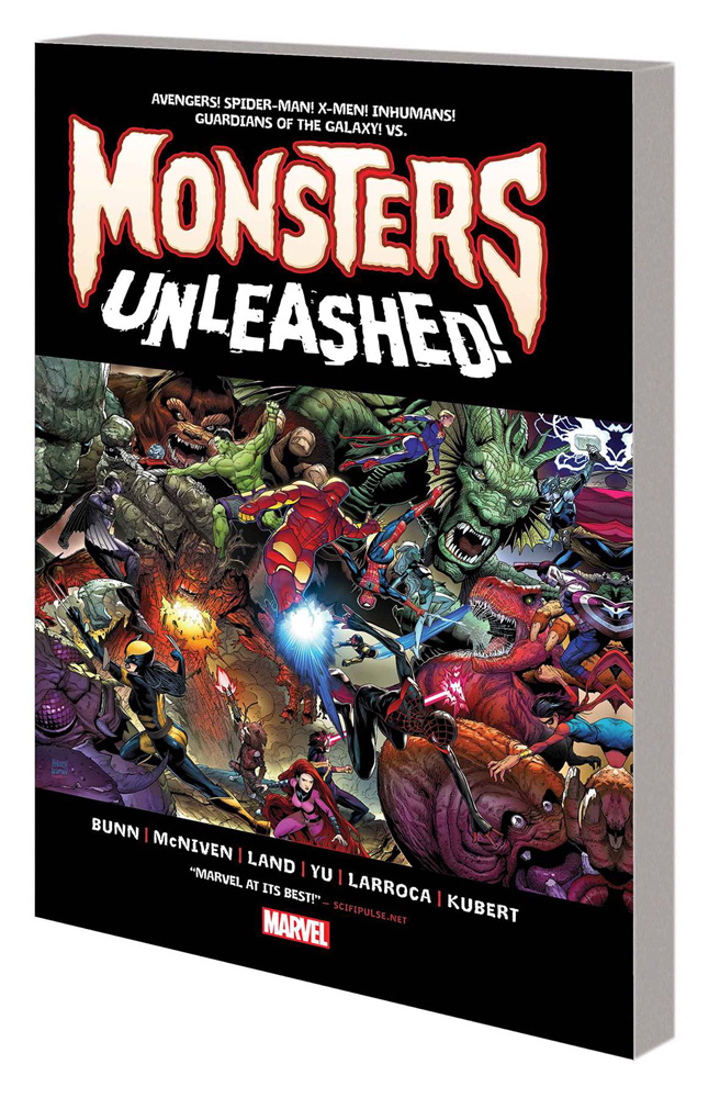 Image: Monsters Unleashed SC  - Marvel Comics