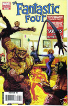 Image: Fantastic Four #554 (Suydam variant cover) - Marvel Comics