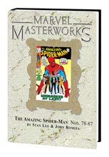 Image: Marvel Masterworks Vol. 86: Amazing Spider-Man Nos. 78-87  (variant hc) - Marvel Comics