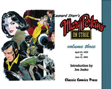 Image: Leonard Starr's Mary Perkins on Stage Vol. 03 SC  - Classic Comics Press Inc