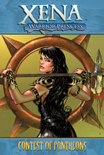 Image: Xena Warrior Princess Vol. 01: Contest of Pantheons SC  - D. E./Dynamite Entertainment