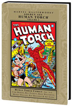 Image: Marvel Masterworks: Golden Age Human Torch Vol. 02 HC  - Marvel Comics