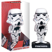 Image: Star Wars Storm Trooper Bobble-Head  -