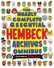 Image: Nearly Complete Essential Hembeck Archives Omnibus SC  - Image Comics