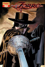Image: Zorro #1 (Mike Mayhew/Dean White Cover) - D. E./Dynamite Entertainment