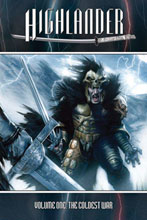 Image: Highlander Vol. 01  (Previews Exclusive signed hc) - D. E./Dynamite Entertainment