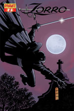 Image: Zorro #2 (Matt Wagner Cover) - D. E./Dynamite Entertainment